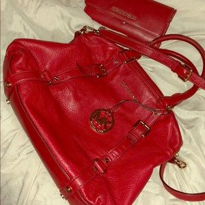 Authentic Red Michael Kors